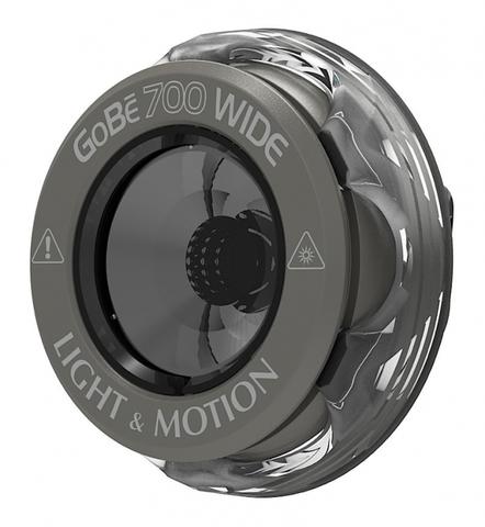 Головка фонаря Light and Motion GoBe 700 Wide серая