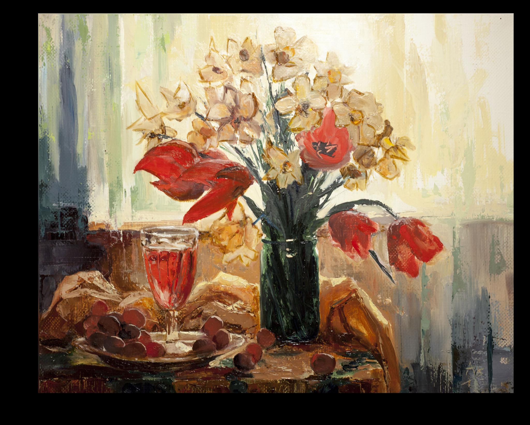 """Постеры Постер """"Красочный натюрморт"""" п109.png"""