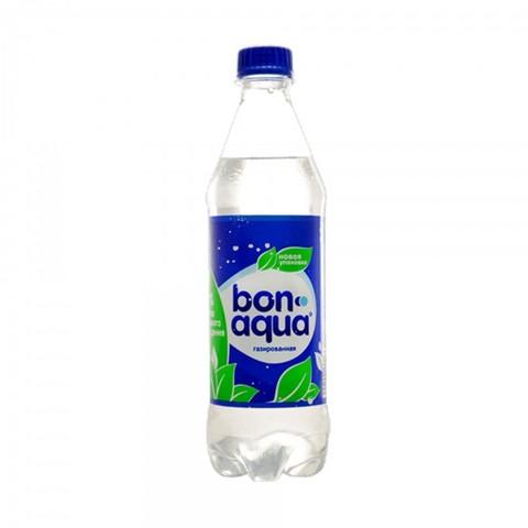 Вода Бон-Аква газированная 0,5 л