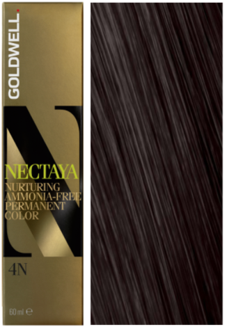 Goldwell Nectaya 4N средне-коричневый 60 мл