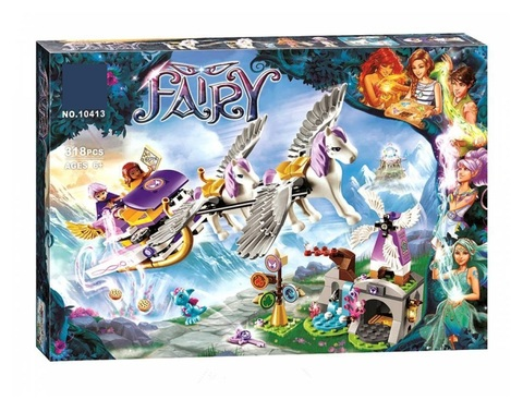 Конструктор Fairy 10413 Летающие сани Эйры