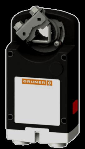 Gruner 363C-024-20-S2 электропривод с моментом вращения 20 Нм