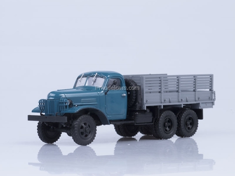 ZIS-151 board Export blue-gray AutoHistory 1:43