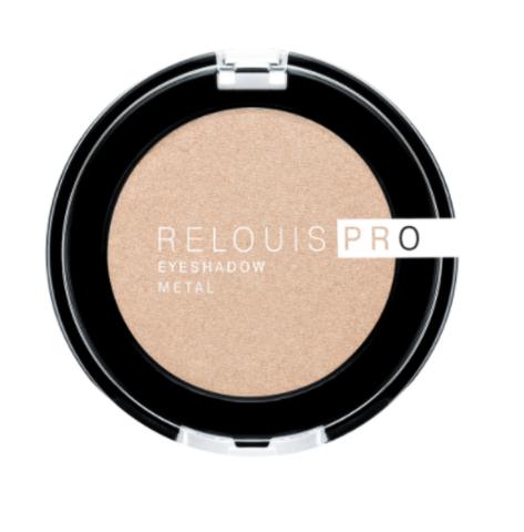 RELOUIS Тени Pro Eyeshadow Metal  тон 53, oh my gold