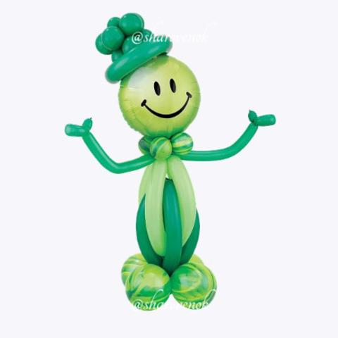 Стойка Зеленый Смайл