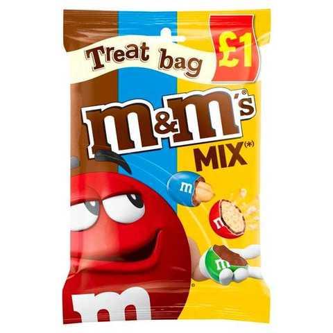 Шоколадное драже M&M'S Mix Treat Bag 80 гр