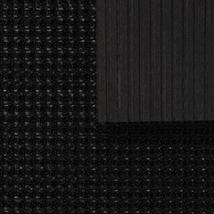 Коврик-дорожка ТРАВКА, черный, на противоскользящей  основе, 0,90*15 м