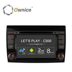 Штатная магнитола на Android 6.0 для Fiat Bravo Ownice C500 S7926G