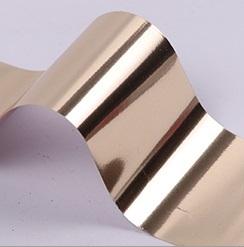 Фольга для дизайна ногтей (золото светлое)