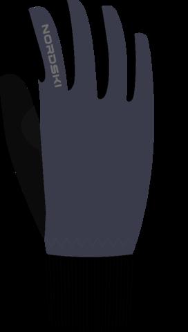 Лыжные перчатки Nordski Active Blueberry WS