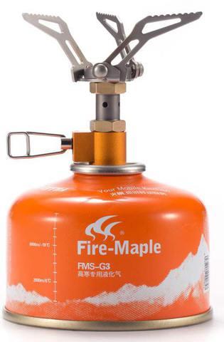 Картинка горелка туристическая Fire Maple Hornet FMS-300T титановая  - 2