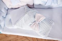 Комплект постельного белья для новорождённых Бусинка 10-01