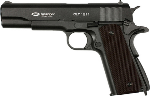 Пистолет пневматический Gletcher CLT 1911 Blowback, металл