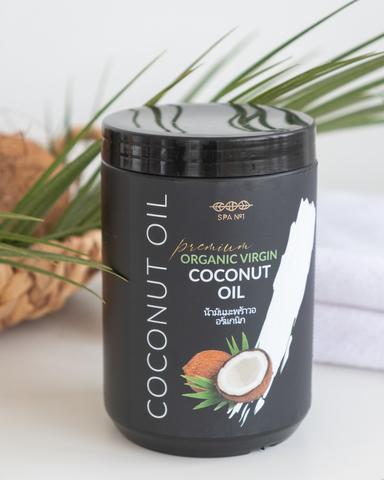 100% натуральное кокосовое масло девственное органик ПРЕМИУМ Spa№1 1000 мл