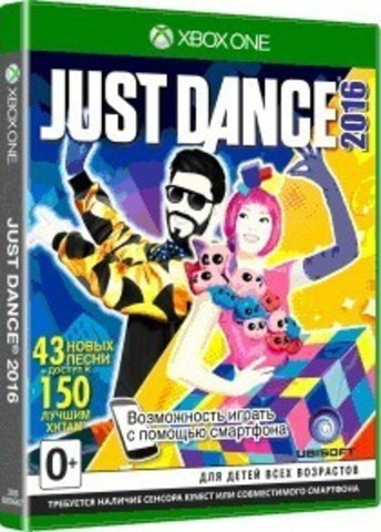 Just Dance 2016. Unlimited (Xbox One/Series X, английская версия)