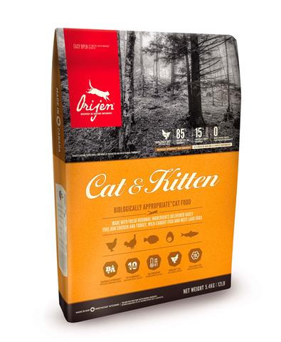 Orijen Cat & Kitten 85/15 корм беззерновой для кошек Цыпленок 1,8 кг