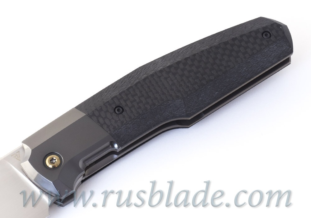 CKF/Philippe Jourget collab FIF23 knife (Sale card, M390, Ti, Zirc, CF)