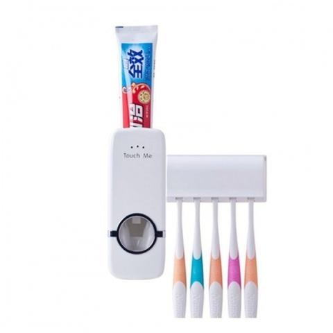 Дозатор для зубной пасты с держателем для щётки