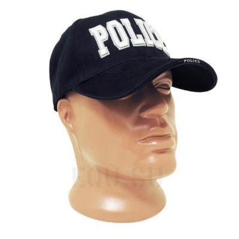 Кепка Deluxe 'Police' Navy Blue