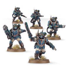 Start Collecting! Militarum Tempestus. Сционы