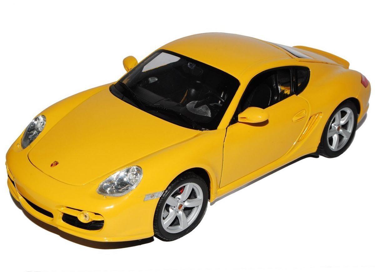 Машинка-игрушка Porsche Cayman S 1:24