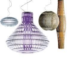 Подвесной светильник копия Tropico Vertical by Foscarini (прозрачный)