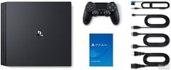 Игровая консоль Sony PlayStation 4 Black Slim 1Tб (CUH-2208B) + диск Spiderman + диск Gran Turismo Sport + диск Horizon: Zero Dawn + PS Plus 3 месяца