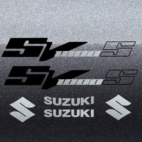 Набор виниловых наклеек на мотоцикл SUZUKI SV 1000S 2006