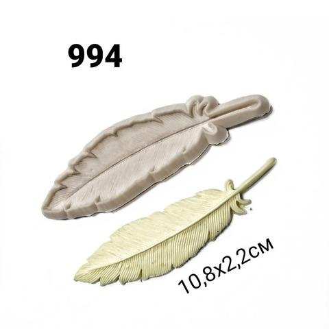0994 Молд силиконовый. Перо. Производство Китай.