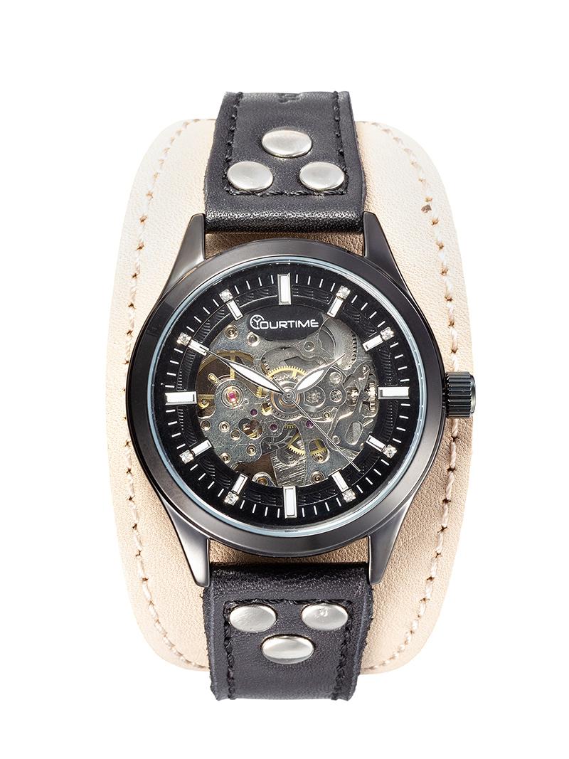 Часы скелетоны мужские механические Condor YOURTIME