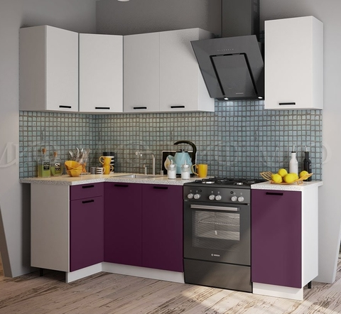 Кухня Угловая Техно NEW 1,1-1,8 м №6