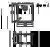 Схема Omoikiri Bosen 38-U-BL