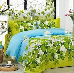 Сатиновое постельное бельё  1,5 спальное Сайлид  В-76
