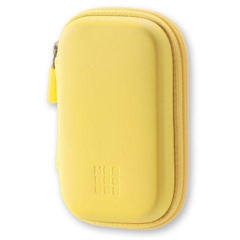 Чехол для путешествий Moleskine Journey Pouch XS 70х110x30мм (в компл.:ремешок на запястье) желтый