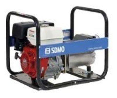 Кожух для бензинового генератора SDMO HX6080 C (6000 Вт)