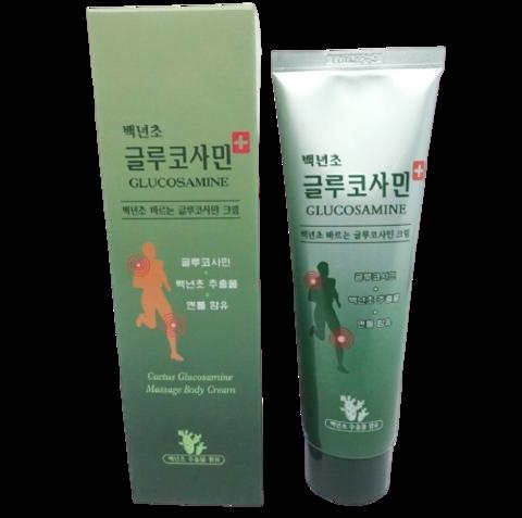 Glucosamine Menthol Korean Massage Body Cream Pain Relief