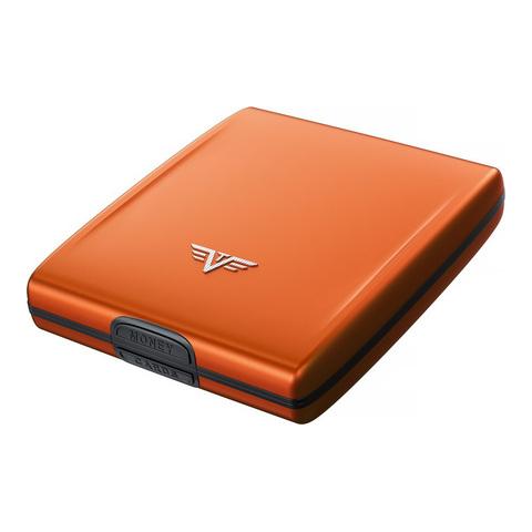 Кошелек c защитой Tru Virtu Beluga, оранжевый, 107x93x22 мм