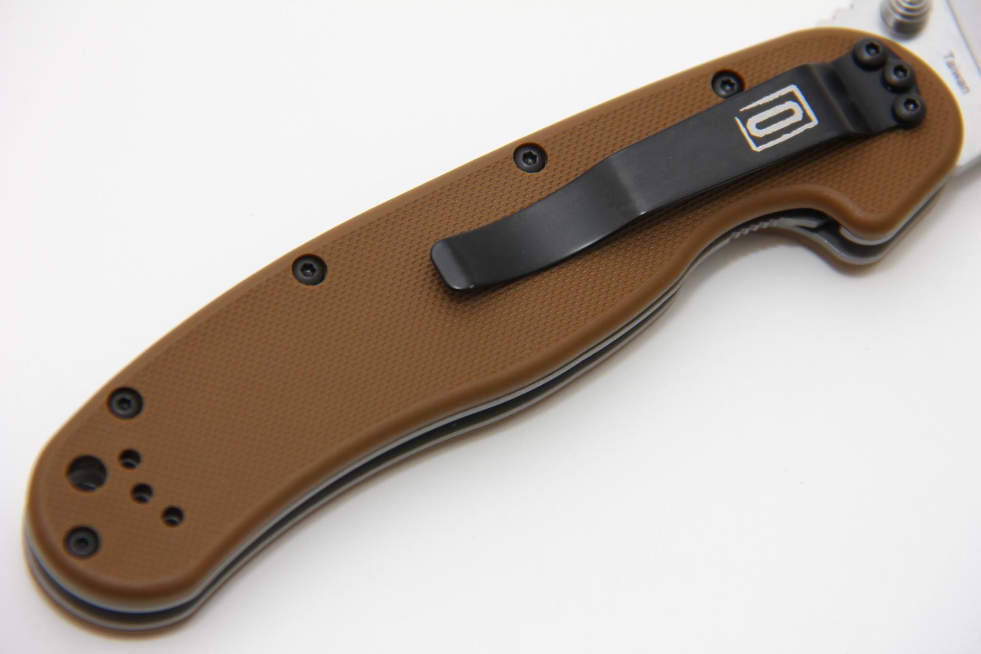 Нож Ontario Rat 1 ON8848 песочный - фотография