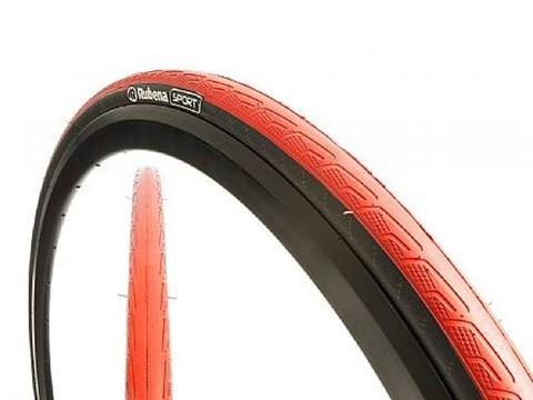 Картинка покрышка Rubena V80 SYRINX 700 x 23C (23-622) CL черный/красный  - 1