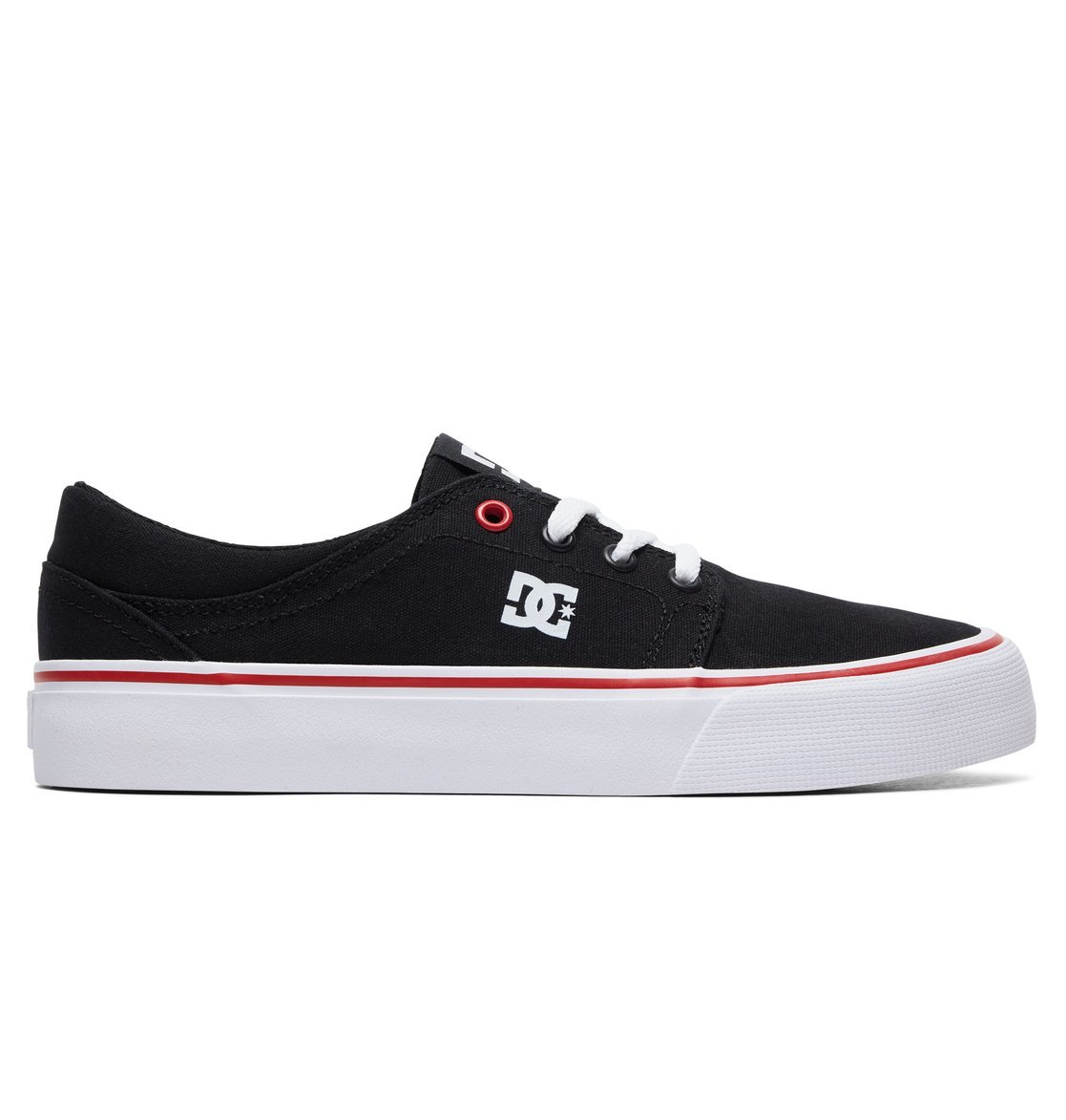 Кеды DC Shoes TRASE TX J SHOE BW5 BLACK/WHITE/RED
