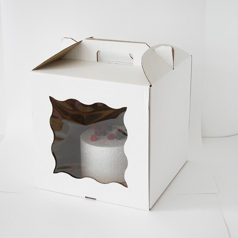 Коробка-чемодан 28х28х30см с окном