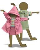 Комплект с сарафаном - Демонстрационный образец. Одежда для кукол, пупсов и мягких игрушек.