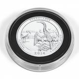 CAPSXL101 Капсула для больших монет или медалей XL с наборной вставкой и возможностью менять внутренний диаметр от 53 до 101 mm