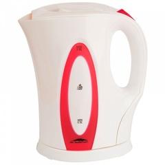 Чайник электрический 2л Эльбрус-4 белый с розовым