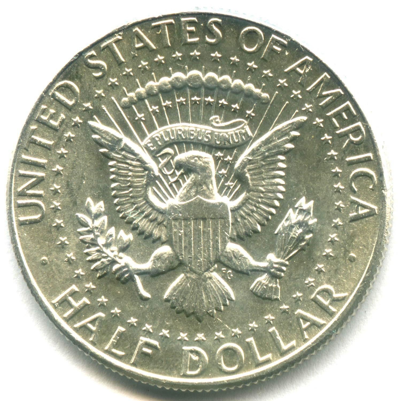 1/2 доллара 1964. США AU (Кеннеди)