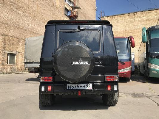 Колпак запасного колеса для Mercedes G-class