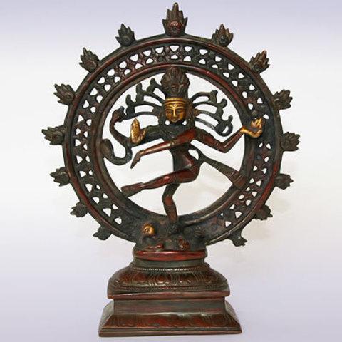 Фигура Натарадж из бронзы