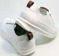 Белые мужские кроссовки на каждый день Faber 193909-3 White.