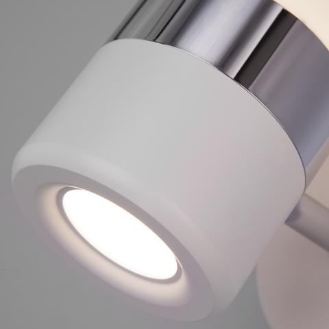 Настенный светодиодный светильник 20165/1 LED хром/белый