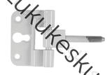 Mantelhing sümmetriline valge (reguleeritav)